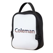 Coleman Stars and Stripes Neoprene Lunch Bag