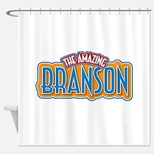 The Amazing Branson Shower Curtain