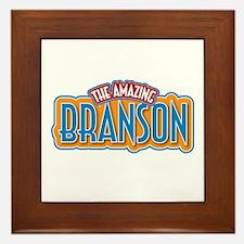 The Amazing Branson Framed Tile