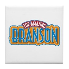 The Amazing Branson Tile Coaster