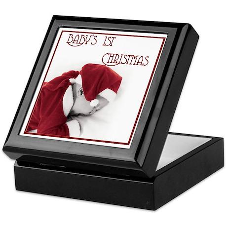 Baby's 1st Christmas Keepsake Box