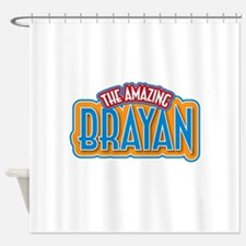 The Amazing Brayan Shower Curtain