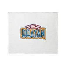 The Amazing Brayan Throw Blanket