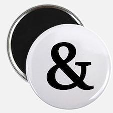 Vintage Ampersand Magnet