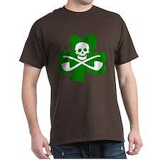 Lucky Leprechaun Pirate T-Shirt