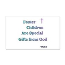 Foster Children Gifts from God Car Magnet 20 x 12