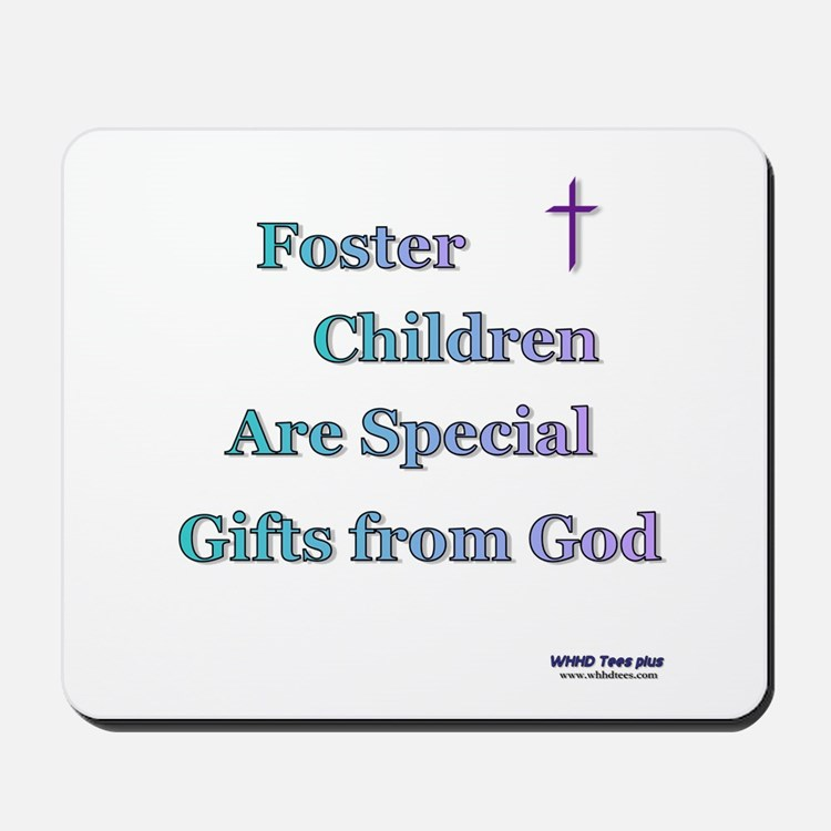 Foster Children Gifts from God Mousepad