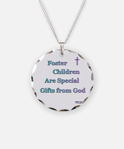 Foster Children Gifts from God Necklace Circle Cha