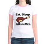 Eat. Sleep. Eat Some More. Jr. Ringer T-Shirt