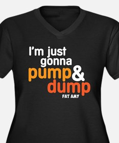 Pump and Dump Plus Size T-Shirt