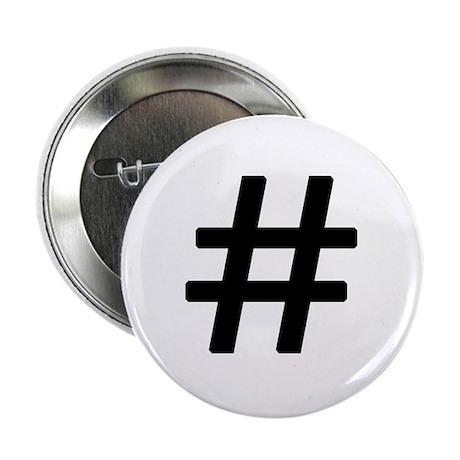 "Vintage Pound Symbol 2.25"" Button"