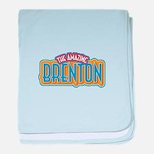 The Amazing Brenton baby blanket
