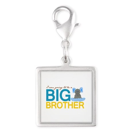 I'm going to be a Big Brother Silver Square Charm