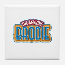 The Amazing Brodie Tile Coaster