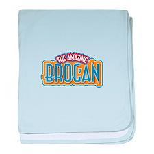 The Amazing Brogan baby blanket
