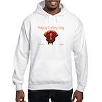 Happy Turkey Day Hooded Sweatshirt