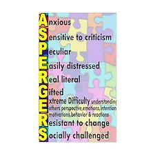 autism asperger Decal