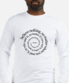 buddha quote Long Sleeve T-Shirt