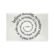buddha quote Rectangle Magnet