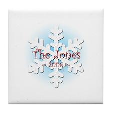 Snowflake - Jones Tile Coaster
