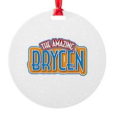 The Amazing Brycen Ornament