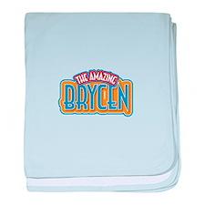 The Amazing Brycen baby blanket
