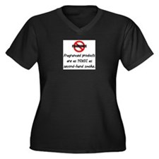 No Fragrance Plus Size T-Shirt