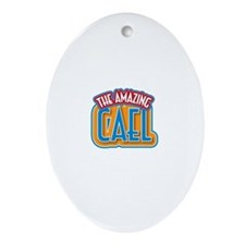 The Amazing Cael Ornament (Oval)