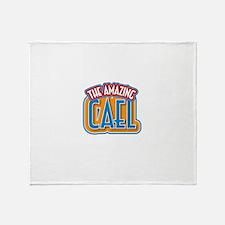 The Amazing Cael Throw Blanket