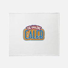The Amazing Caleb Throw Blanket