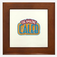 The Amazing Caleb Framed Tile