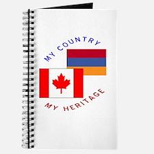 Armenia Canada Flag Heritage Journal