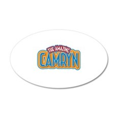 The Amazing Camryn Wall Decal