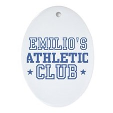 Emilio Oval Ornament