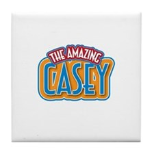 The Amazing Casey Tile Coaster