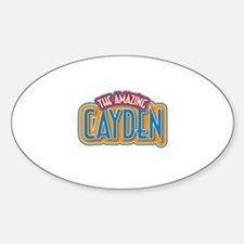 The Amazing Cayden Decal