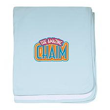 The Amazing Chaim baby blanket