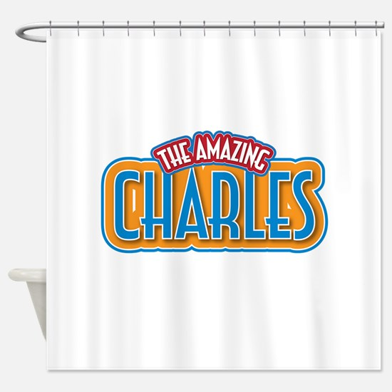 The Amazing Charles Shower Curtain
