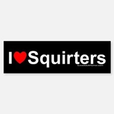 Squirters Bumper Bumper Sticker