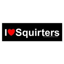 Squirters Bumper Sticker