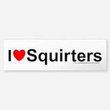 Squirters Bumper Bumper Sticker
