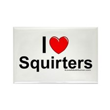 Squirters Rectangle Magnet