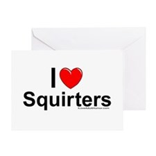 Squirters Greeting Card
