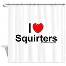 Squirters Shower Curtain
