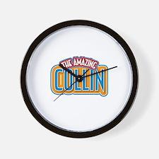 The Amazing Collin Wall Clock