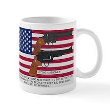 God Bless the USA and the Second Amendment Mug