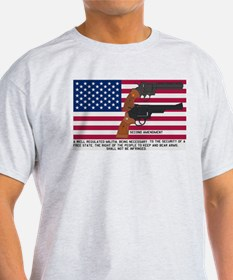 God Bless the USA and the Second Amendment T-Shirt