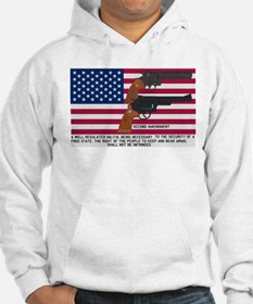 God Bless the USA and the Second Amendment Hoodie