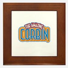 The Amazing Corbin Framed Tile