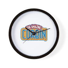 The Amazing Corbin Wall Clock